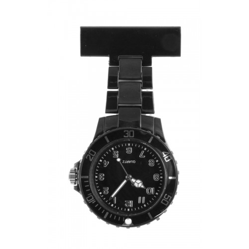 Neon Nurses Fob Watch Black