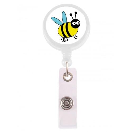 Retracteze ID Holder Bee