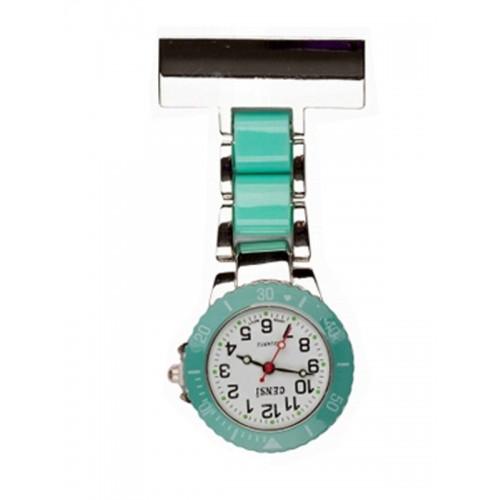 Nurses Fob Watch Silver Mint
