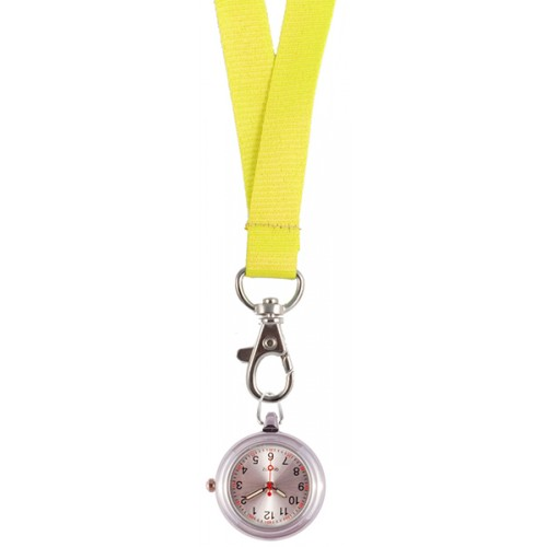 Lanyard Watch Yellow