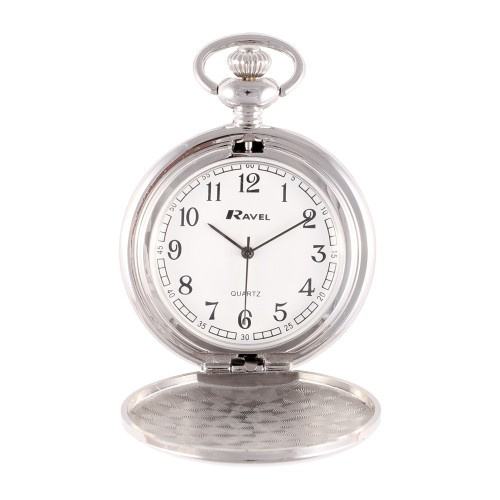 Pocket Watch Silver