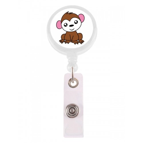 Retracteze ID Holder Monkey