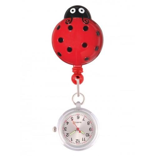 Retracteze Fob Watch Lady Bug
