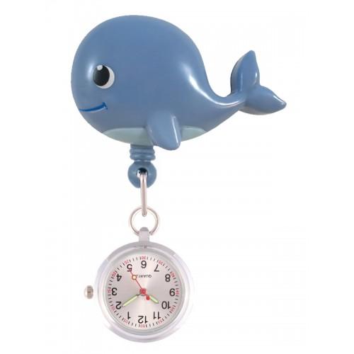 Retracteze Fob Watch Whale