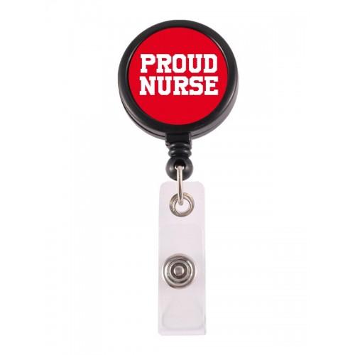 Retracteze ID Holder Proud Nurse