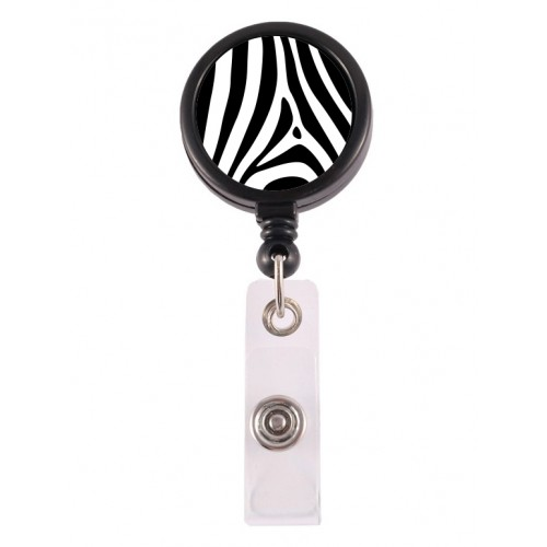 Retracteze ID Holder Zebra