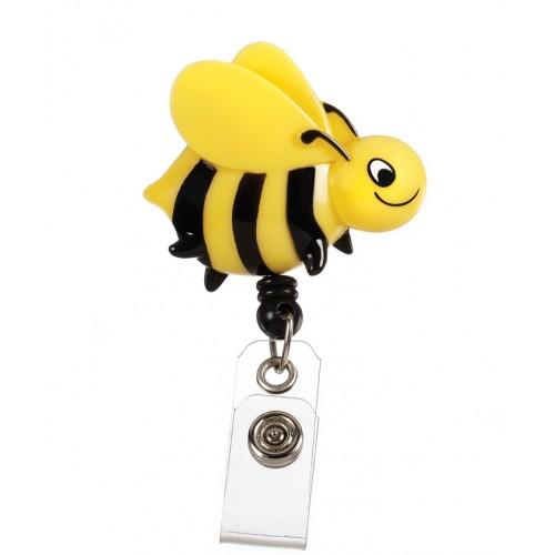 Deluxe Retracteze ID Holder Bee