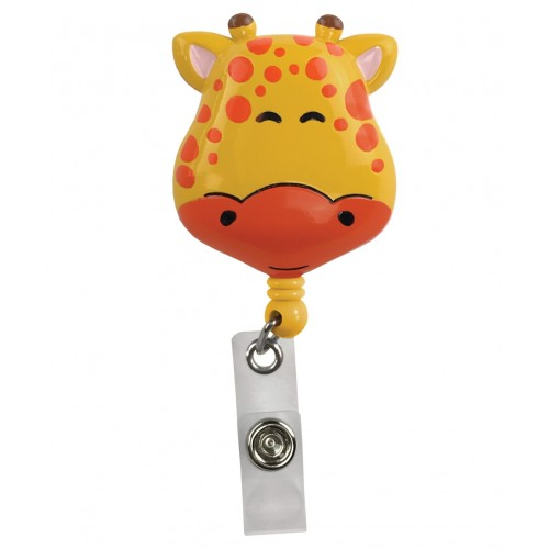 Deluxe Retracteze ID Holder Giraffe