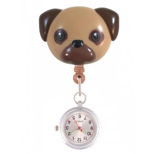 Retracteze Fob Watch Pug