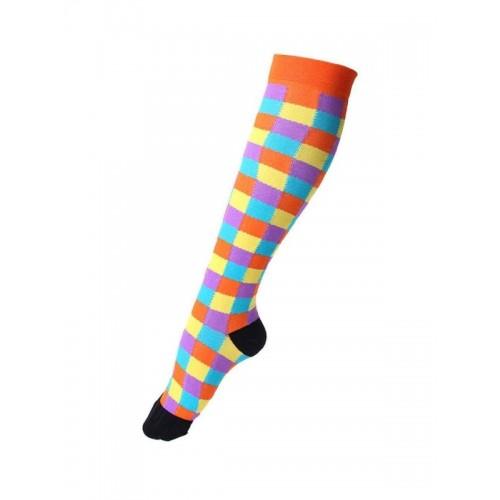 Nurse Compression Socks Pixels